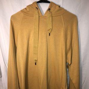 Yellow sweatshirt